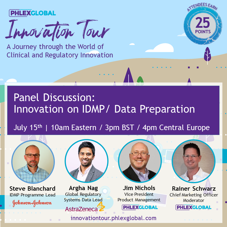 IT2020_07JUL_15 Panel Discussion Innovation on IDMP Data Preparation