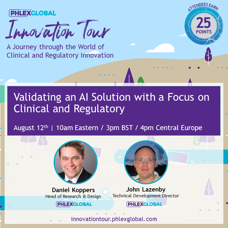 IT2020_08AUG_12 Validating an AI Solution with a Focus on Clinical and Regulatory